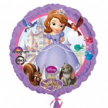"Sofia The First Foil Balloon (18"") 1pc"